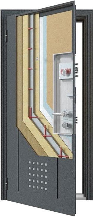 Входные двери  торекс супер омега 10